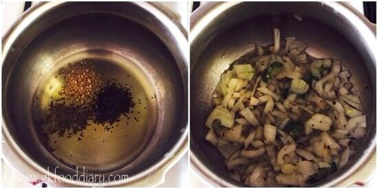 Masala Rice Recipe Step 2