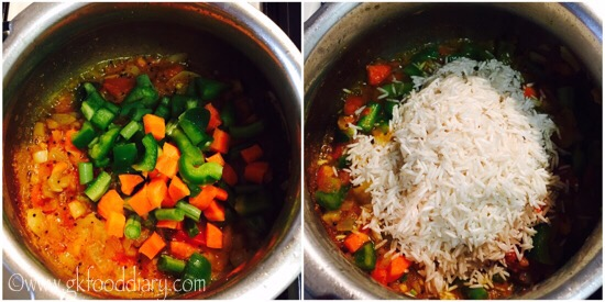 Masala Rice Recipe Step 3