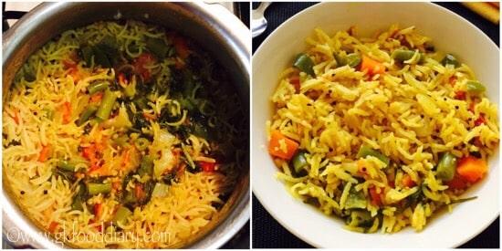 Masala Rice Recipe Step 5