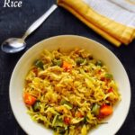 Masala Rice Recipe for Toddlers and Kids