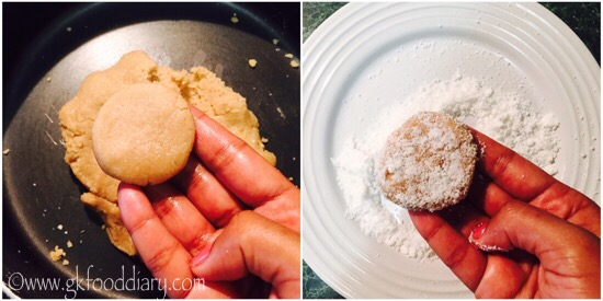 Whole Wheat Coconut Cookies Recipe Step 4