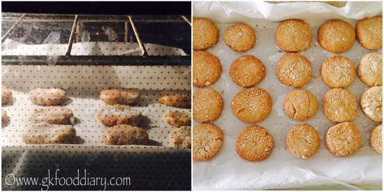 Whole Wheat Coconut Cookies Recipe Step 5