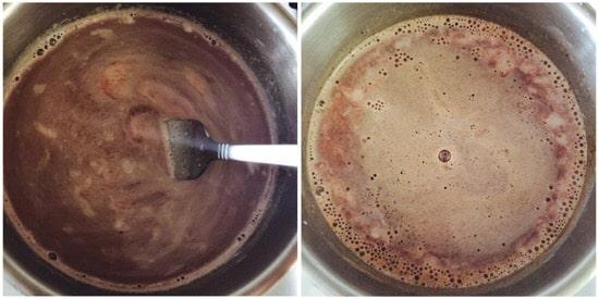 Chocolate Powder Milk step 2