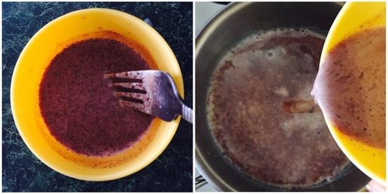 Chocolate Powder Milk step 3