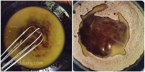 Oats Chocolate Cookies Recipe Step 2