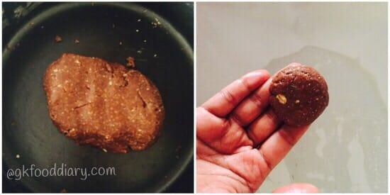 Oats Chocolate Cookies Recipe Step 3