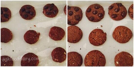 Oats Chocolate Cookies Recipe Step 4