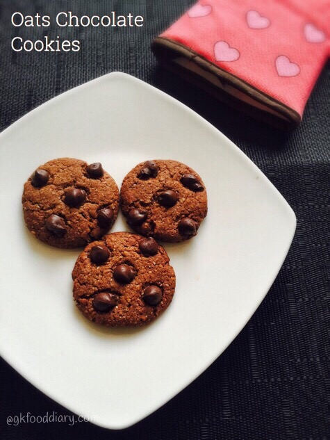 Oats Chocolate Cookies Recipe