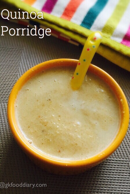 Quinoa Porridge for Toddlers and Kids