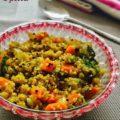 Quinoa Upma Recipe