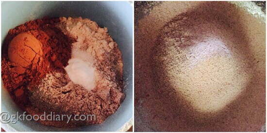 Ragi Chocolate Cake Recipe for Toddlers and Kids 5