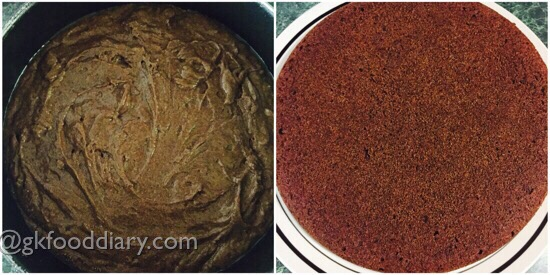 Ragi Chocolate Cake Recipe for Toddlers and Kids 9