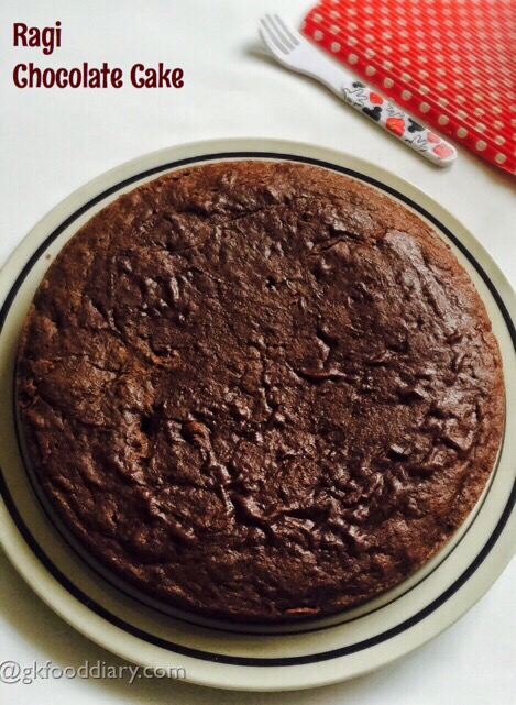 Ragi Chocolate Cake Recipe for Toddlers and Kids 2