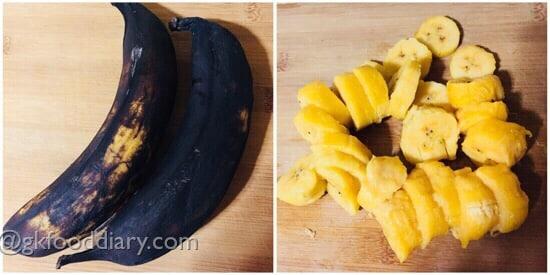Banana Sandwich Recipe Step 1