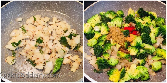 Broccoli Curry Recipe Step 4