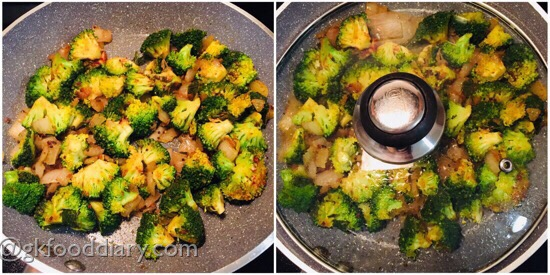 Broccoli Curry Recipe Step 6