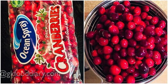 Cranberry Juice Recipe Step 1