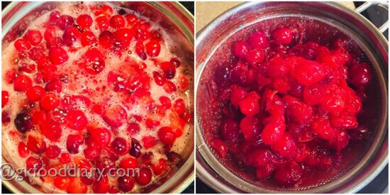 Cranberry Juice Recipe Step 2