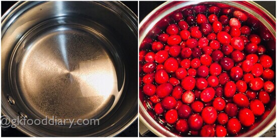 Cranberry Juice Recipe Step 3