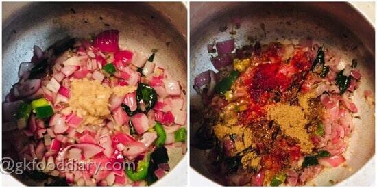 Mutton Liver Masala Recipe Step 3