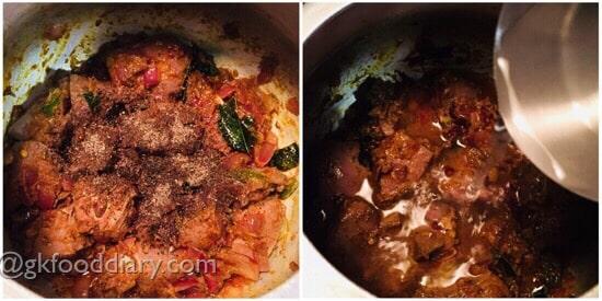 Mutton Liver Masala Recipe Step 4