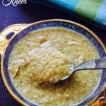 Quinoa Kheer Recipe for Babies, Toddlers