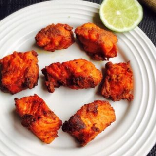 Salmon fish fry Recipe for Toddlers and Kids   Fish Recipes 1