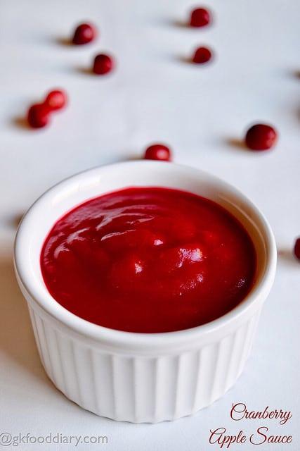 Cranberry Apple Sauce Recipe