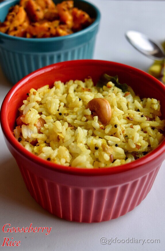 Gooseberry Rice Recipe for Toddlers