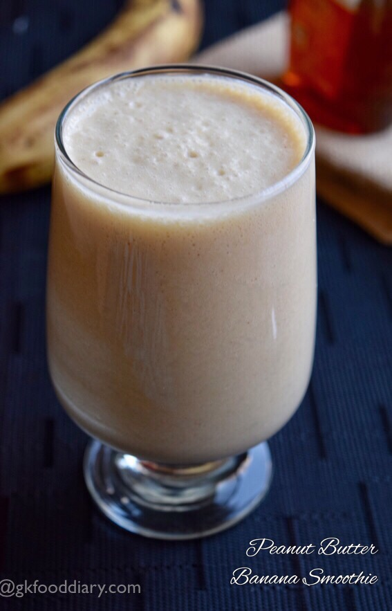 Peanut Butter Banana Smoothie Recipe for Toddlers