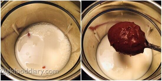 Ragi Milkshake Recipe Step 2