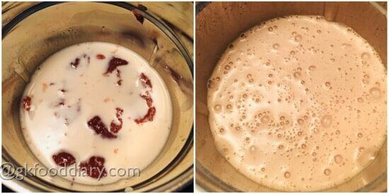 Ragi Milkshake Recipe Step 4