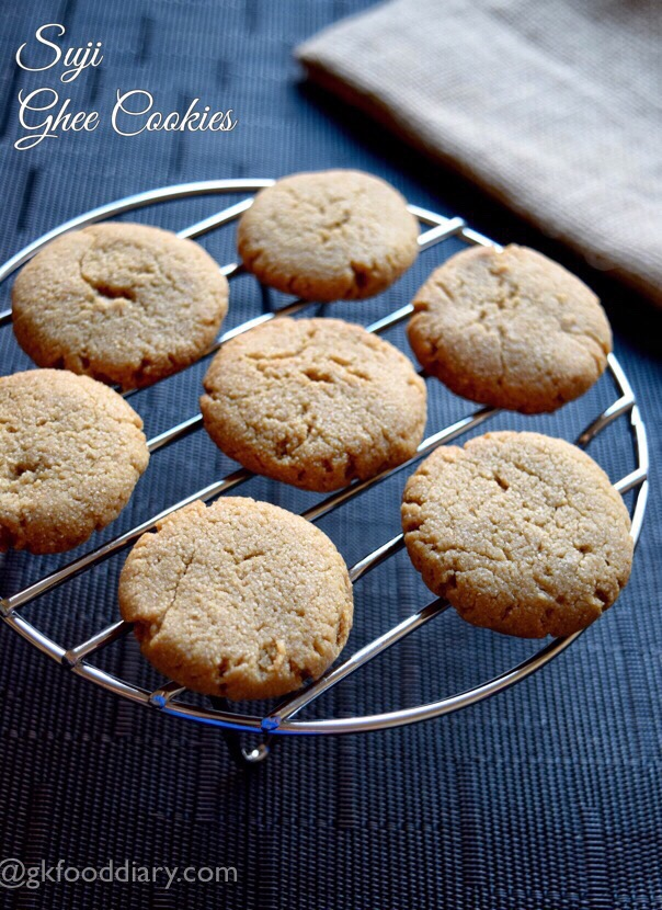 Suji Ghee Cookies Recipe toddlers kids