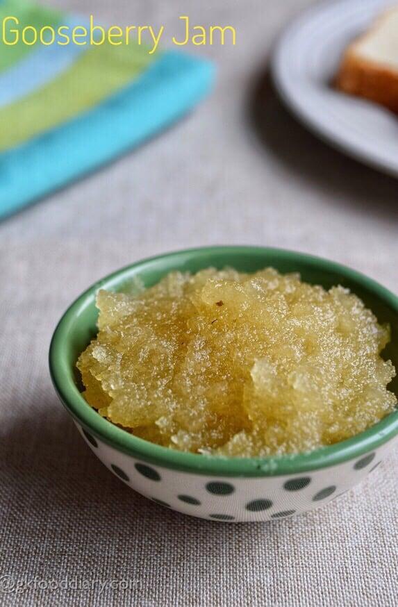Gooseberry Jam Recipe for Kids