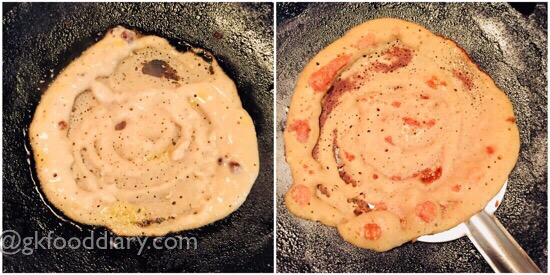 Mixed Lentils Sweet Pancakes recipe Step 4