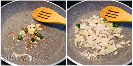 Mushroom Omelette Recipe Step 2