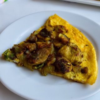 Mushroom Omelette Recipe for Toddlers and Kids 1