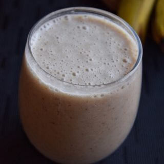 Oats Banana Smoothie Recipe for Toddlers and Kids 1
