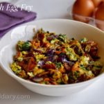 Spinach Egg Fry Recipe for Babies, Toddlers and Kids