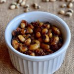Black Eyed Peas Sweet Sundal Recipe for toddlers