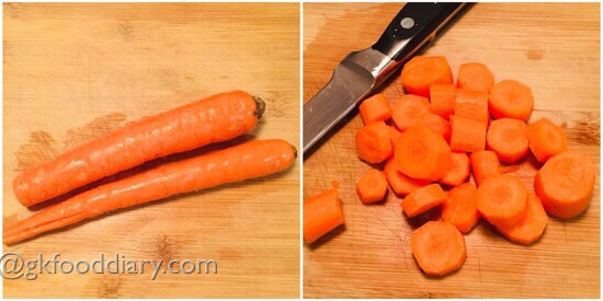Carrot Milk recipe Step 1