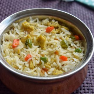 Egg Rice Recipe for Toddlers and Kids 1