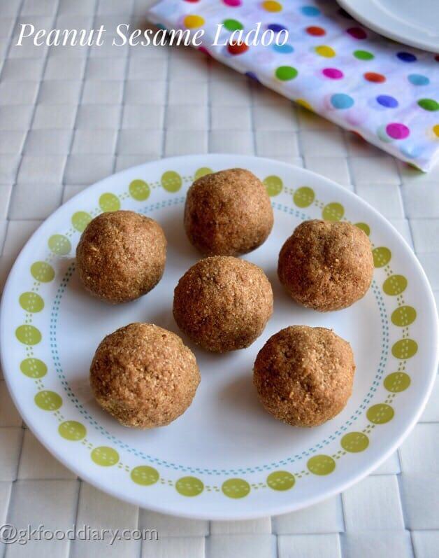 Peanut Sesame Ladoo Recipe for Kids