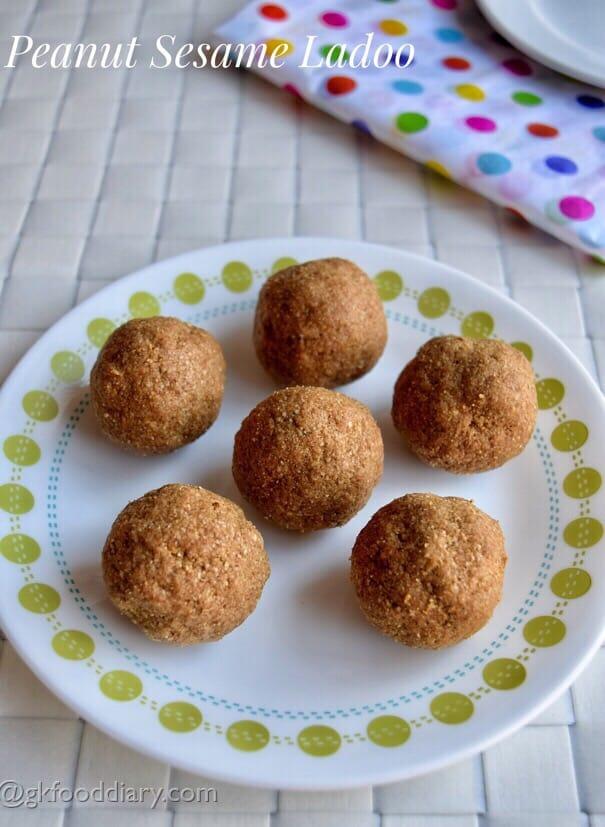 Peanut Sesame Ladoo Recipe