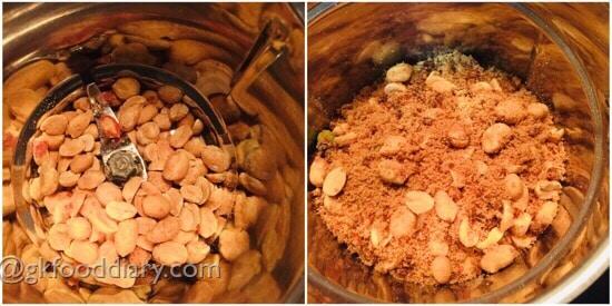 Peanut Sesame Ladoo Step 3