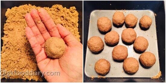 Peanut Sesame Ladoo Step 5
