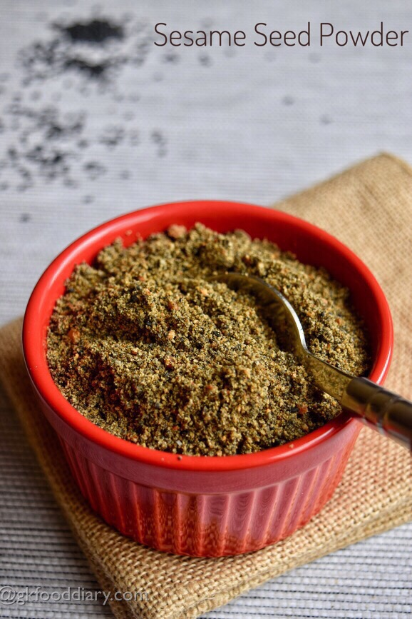 Sesame Seed Powder Recipe Kids