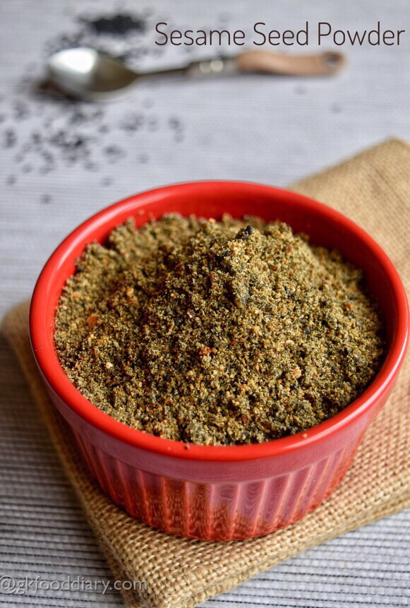 Sesame Seed Powder Recipe