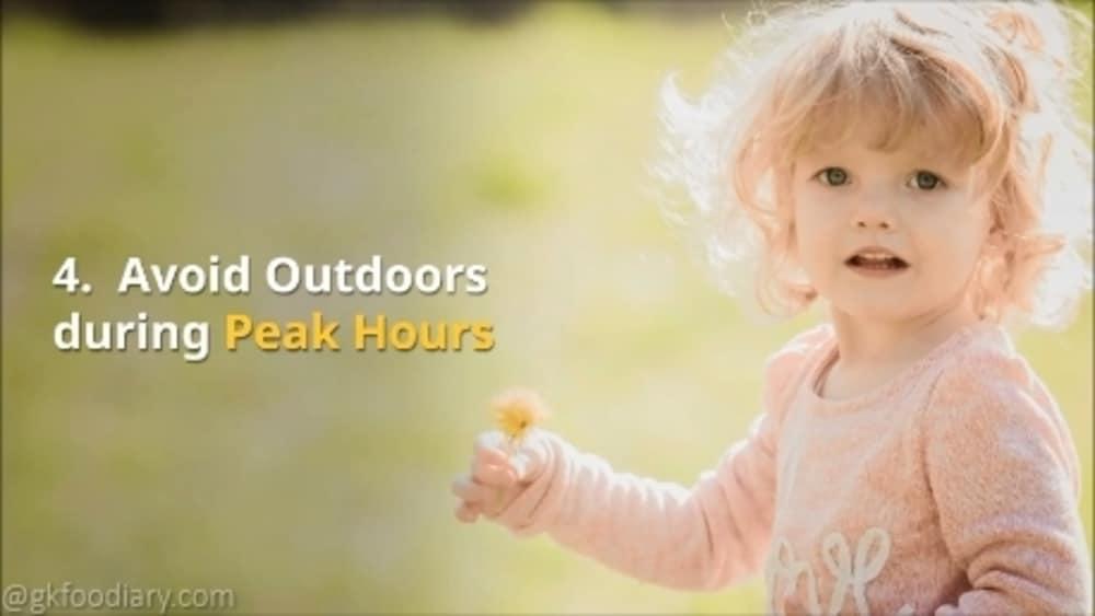 Avoid Outdoors