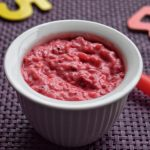 Beetroot Curd Rice Recipe for Babies, Toddlers and Kids